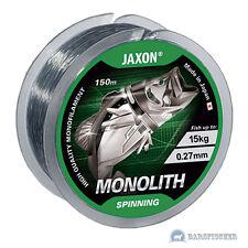 150m ANGELSCHNUR JAXON MONOLITH SPINNING, MONOFILE SCHNUR, SPINNING FISHING LINE