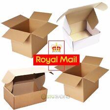 ROYAL MAIL PIP LARGE LETTER  PARCEL SIZE POSTAL CARDBOARD BOXES FULL RANGE