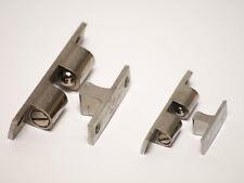 Doppelkugelschnäpper Schnapper Kugelschnäpper Messing verchromt diverse Größen