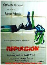 REPULSION Affiche Cinéma / Original French Movie Poster ROMAN POLANSKI