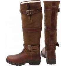 Ηκμ Pull On Horse Riding Equestrian hiver Yard stable Fleece Lined Mucker boots