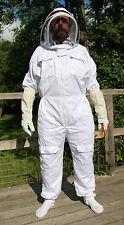 Rucher Additions Abeille Suit Avec Escrime voile et gants en cuir-UK stock 260gsm