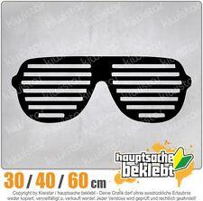 Raver Shutter Brille chf0324  in 3 Größen JDM  Heckscheibe Aufkleber