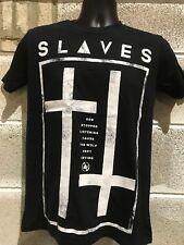 "Mens  ""THE SLAVES "" ROCK T Shirts"