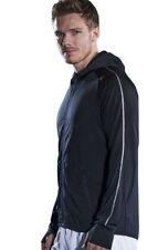 Hombre running Sudadera Con Capucha Reflectante Camiseta de manga larga DEPORTE