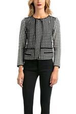 Desigual by L Abrig Aldara 38-46 10-18 RRP�139  Black & White Check Smart Jacket