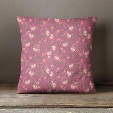 S4Sassy Floral imprimé Dusty rose couverture Throw oreiller taie décorative