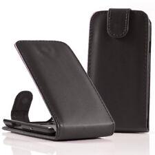 Piel Artificial Funda protectora de móvil con tapa para Samsung Galaxy Nexus