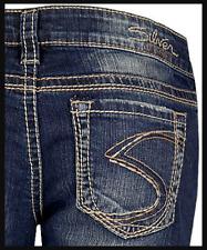 SILVER JEANS Sale New Buckle Low Rise Frances Stretch Jean Denim Shorts 28 31
