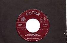 MILVA disco 45 giri MADE in ITALY Flamenco Rock + Da solo a sola STAMPA ITALIANA