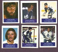 1974-75 Acme Loblaws Hockey Bob Neely Toronto Maple Leafs
