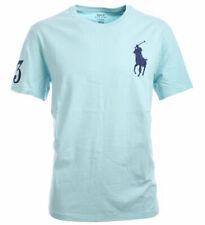 Polo Ralph Lauren Big Pony Herrenshirt T-Shirt Shirt türkis Größe L !! B-Ware !!