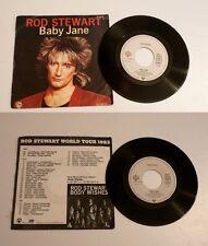 """ROD STEWART """" BABY JANE """"  1983  WARNER BROS . BON ÉTAT . VG+"""