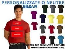 T-SHIRT MAGLIETTA UOMO GILDAN GL5000 HEAVY T-SHIRT  PERSONALIZZABILE