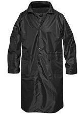 Mil-Tec Manteau de Pluie à capuche Imperméable Parka Raincoat Noir S - 3XL