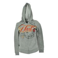 NBA Unk Miami Heat Women Ladies Hoodie Fleece Hooded Rhinestone Sweater