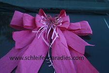 Moderne Riesenschleife, Flower, Sommer, Dekoschleife, Autoschleife 70x90,