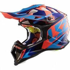 LS2 MX470 SUBVERTER NIMBLE Casque Motocross Enduro Bleu Orange MX Pit Bike