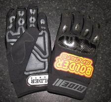 adulti quattro Bolder Sports MX motocross moto guanti NERO M offerta