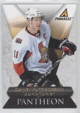 2010-11 Panini Pinnacle Pantheon 2 Daniel Alfredsson Ottawa Senators Hockey Card
