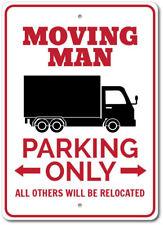 Moving Van Sign, Moving Man Gift, Mover Parking Sign ENSA1003039