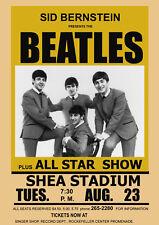 Art Print POSTER / CANVAS The Beatles at Shea Stadium Concert Poster 1966