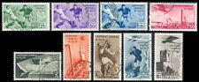 1934 Regno Calcio Serie cpl. n. 357/361+A69/72 Usati