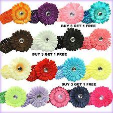 Girls head baby Girls headband,daisy Flower headbnd christmas girft,Uk seller