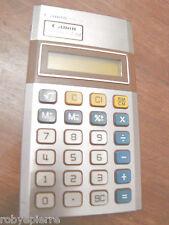 Calcolatrice calcolatore calculator CANON palmtronic LC-8M non funzionante