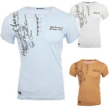 Reslad Clubwear 4050 Herren Batik Style Vintage T-Shirt Poloshirt Hemd Neu