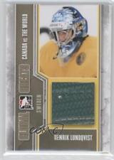 2011-12 In the Game Canada VS World #GG-24 Henrik Lundqvist Hockey Card