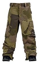BURTON cargo mashup prt olive snow pants boys pantaloni ragazzo oliva