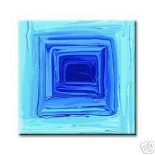 "cc art -CANVAS PRINT ARTWORK- ICE CUBE SQUARE -24""x24"""