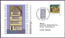 BRD 2007: Deutsche Malerei! FDC der Nr. 2591 mit Berliner Stempel! Gelaufen! 1A
