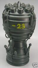 V-2 Ballistic Missile Engine Dried Mahogany Wood Model Large New