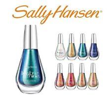 Sally Hansen Lustre Shine Nail Color Orange Blue White Brown Tan Polish Lava New