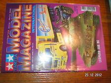 Tamiya Model Magazine n°73 Man TGA + remorque Sunshield Leopard 2A6 RC YZR M1 04