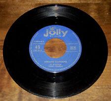 """Adriano CELENTANO IL RIBELLE/NESSUNO CREDERA 45 giri 7"""" JOLLY made in Italy 1959"""