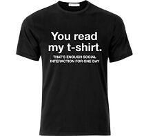 Socially Awkward Geek T Shirt Black