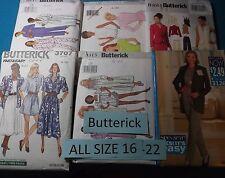 AA Butterick ~ All Patterns Size 16-22 (16,18,20,22) U-PICK  33+ Listed  6421