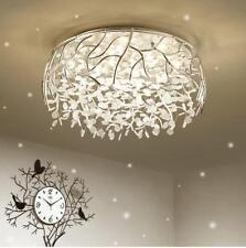 post-modern living room luminaire LED crystal ceiling lamp bedroom warm light