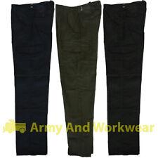 6 Bolsillos Liso Camuflaje Militar Pantalón de Trabajo Ropa Pantalones Seguridad