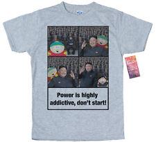POWER DESIGN, avvertenze sanitarie T SHIRT, Kim Jong delle Nazioni Unite