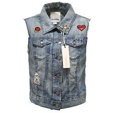 0923T giubbotto jeans smanicato bimba DIESEL sleveless jacket kid
