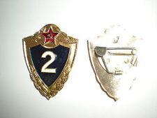 ORIGINAL SOVIET ARMY SPECIALIST 2ND CLASS BADGE