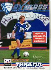 BL 91/92 VfL Bochum - Hamburger SV