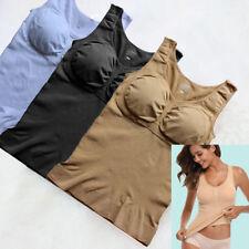 Damen Neu Mieder Taillenformer Weste Body Hemd Bauchweg Vest Shaper Unterwäsche