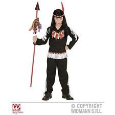 schwarzes Kinderkostüm INDIAN BOY Indianerkostüm Fasching Kostüm Indianer