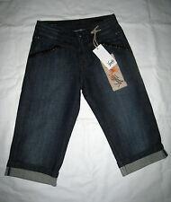 Org. VANILIA Jeans Shorts, Knielang  JUDITH  (103798) Blue-Denim * TOP--PREIS*