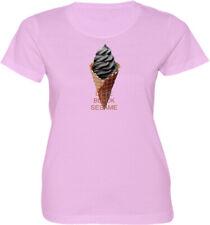 I Love Black Sesame Funny Cool Gift Ice Cream Graphics Women Junior Girl T-Shirt